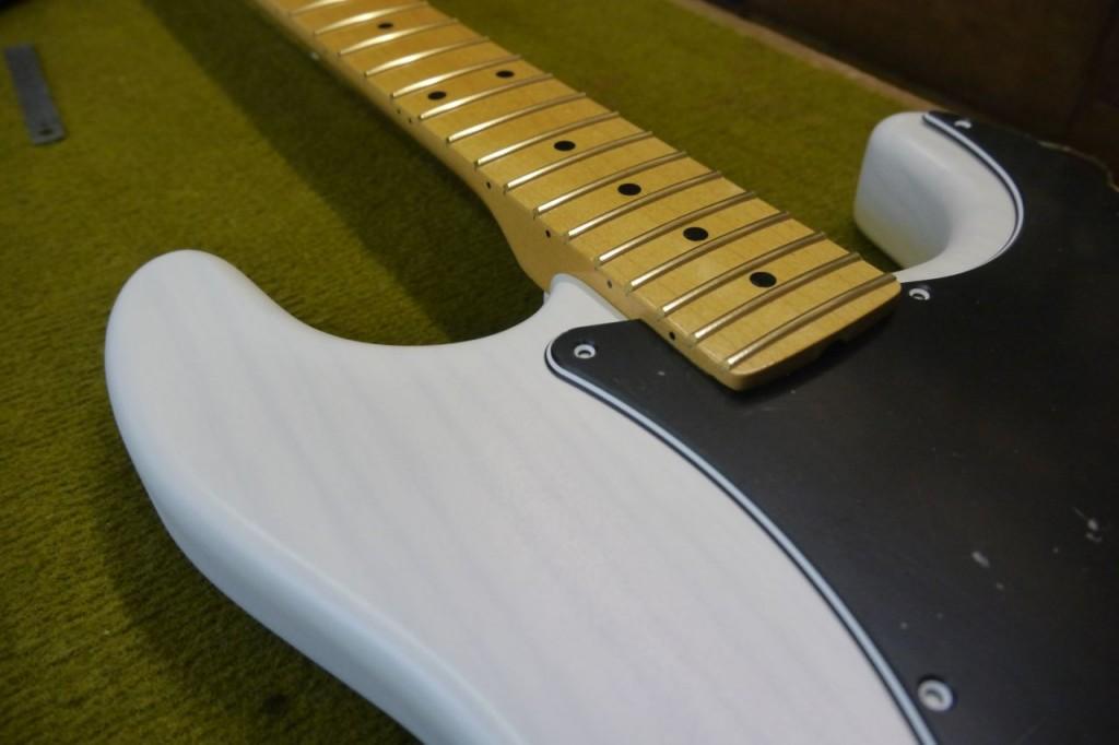 FrankenStrat Project - Patrick Querleux luthier - EG Solidbody body