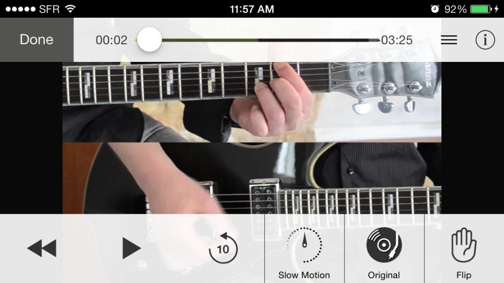 Guitar Masterclass app