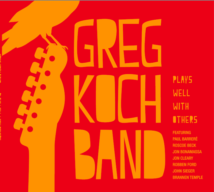 Greg Koch audio interview (aka @mansqwatch): a huge guitar player with humour