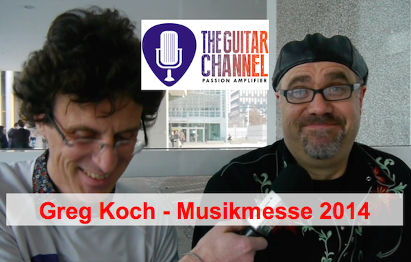 2014 Musikmesse special edition: Greg Koch interview