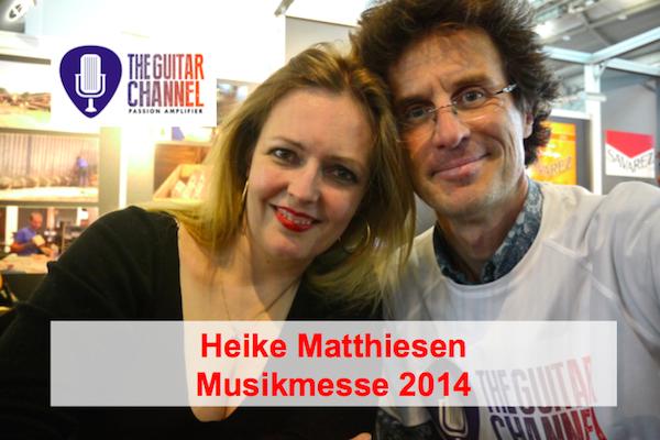 2014 Musikmesse special edition: Heike Matthiesen interview
