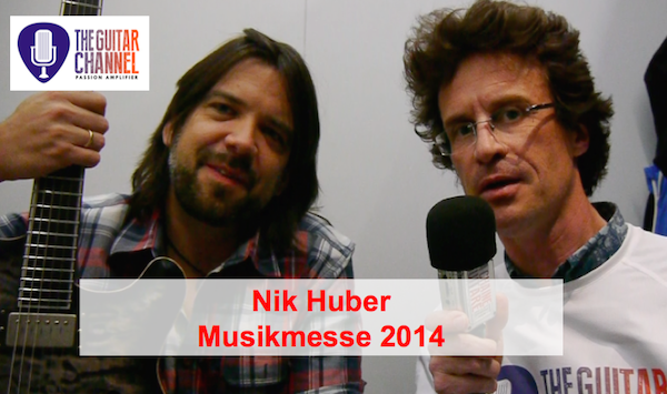2014 Musikmesse special edition: Nik Huber interview