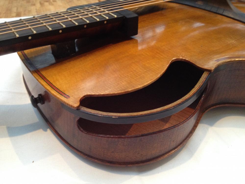 """Ken Parker's guitar """"Lucky"""""""