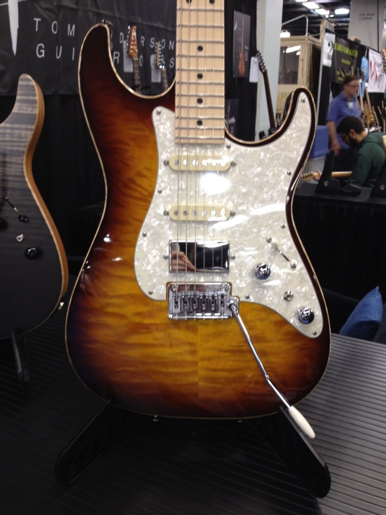 Tom Anderson guitar - 2015 Winter NAMM