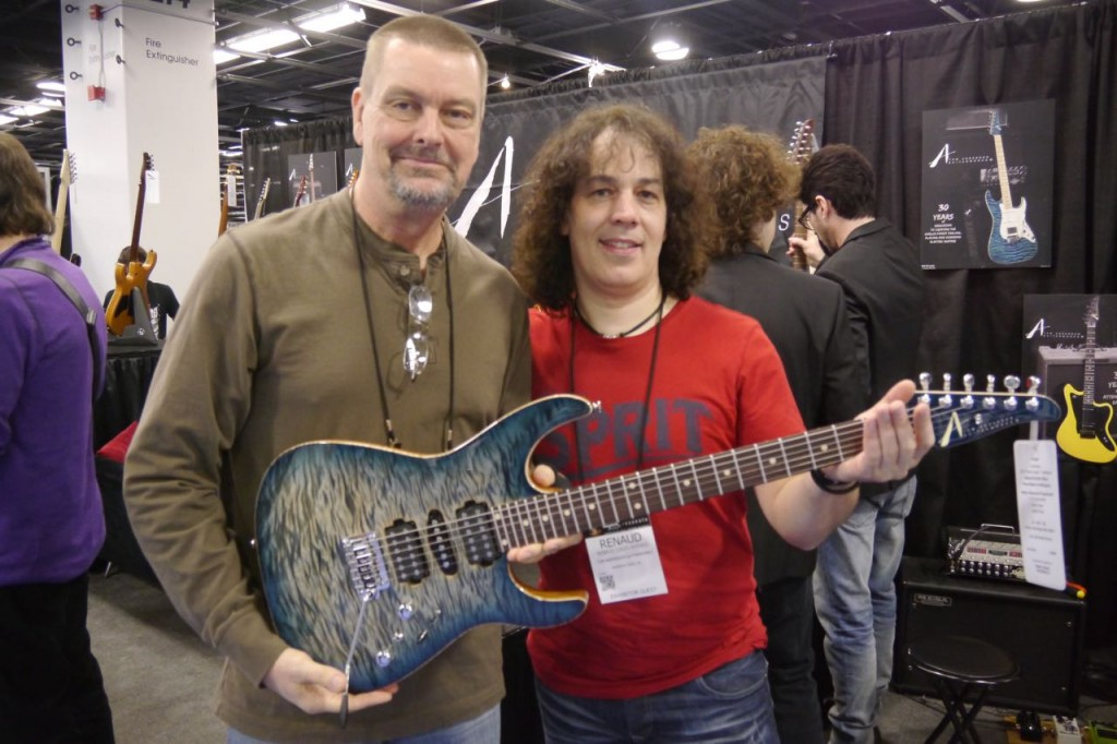 Tom Anderson and Renaud Louis-Servais - 2015 Winter NAMM