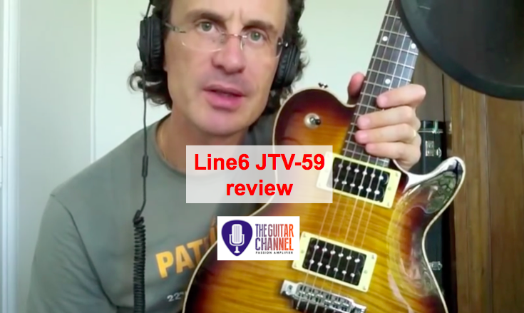 Line6 JTV-59: so many sounds in one guitar!The Guitar ...