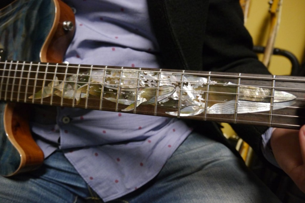 Blue Whale Nik Huber guitar
