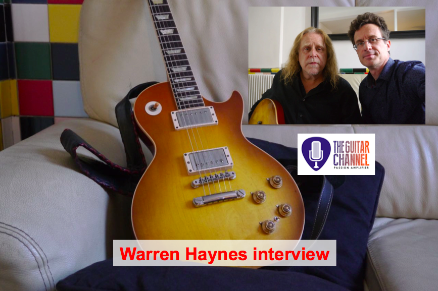 Warren Haynes interview - King of the Les Paul in Govtmule - The Guitar Channel