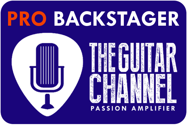The Guitar Channel Pro Backstage Pass owner badge