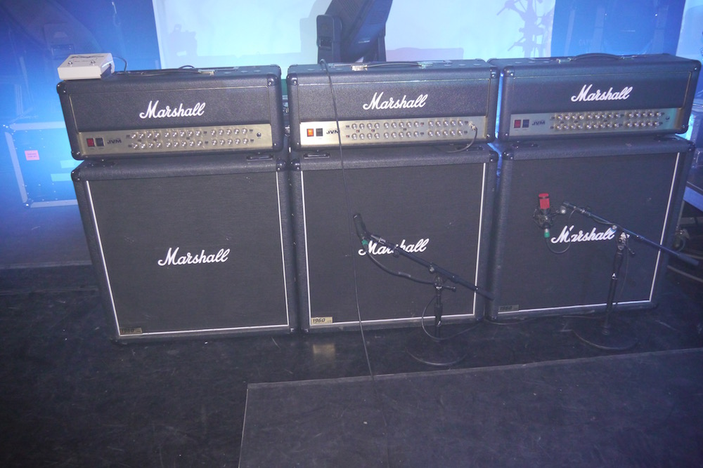 Joe Satriani Marshall amps - Paris Grand Rex 2015 - The Guitar Channel