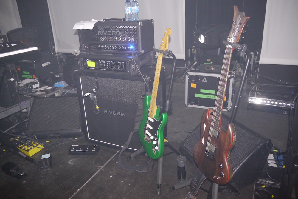 Mike Keneally Rig - Paris Grand Rex 2015 - The Guitar Channel