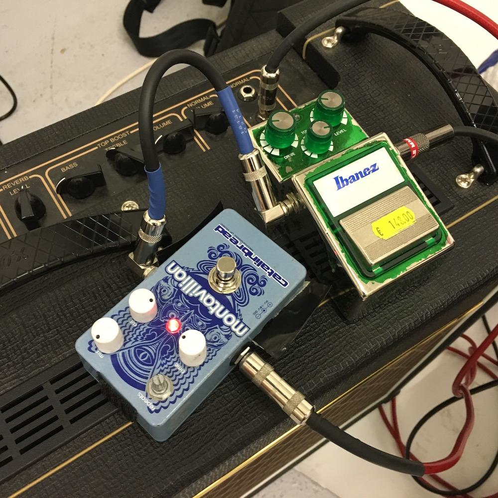 Popa Chubby pedals