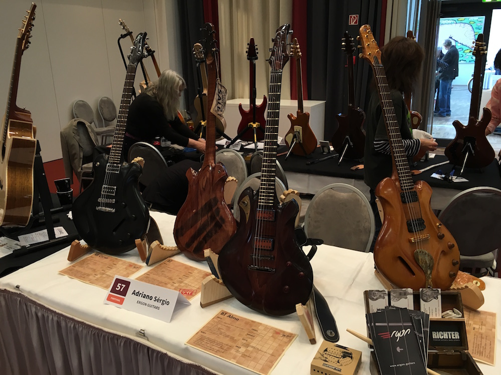 Ergon Guitars at the Holy Grail Guitar Show in 2015