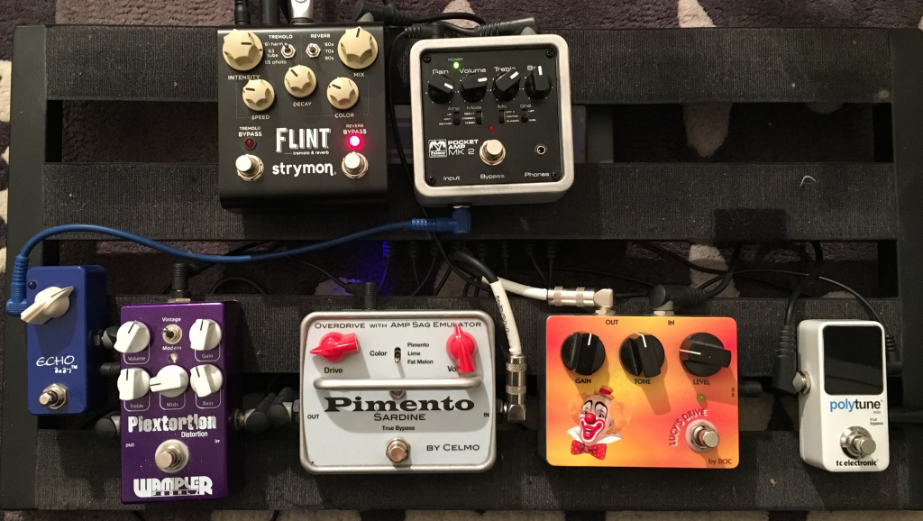 Review pedal board - Jean-Yves Alquier