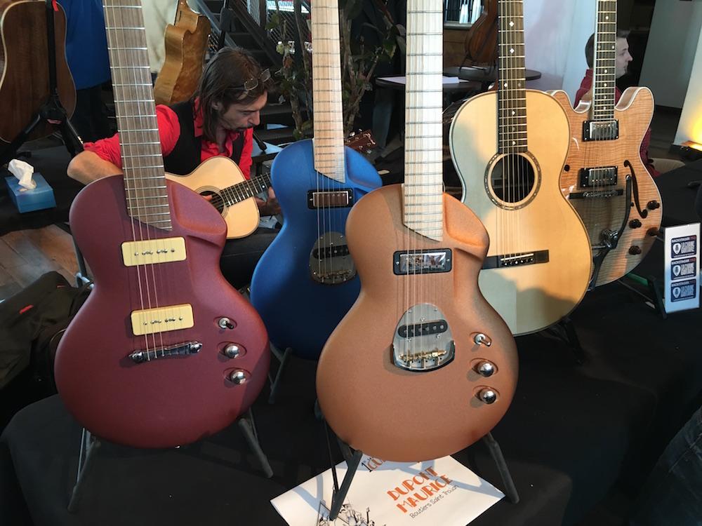 Maurice Dupont guitars