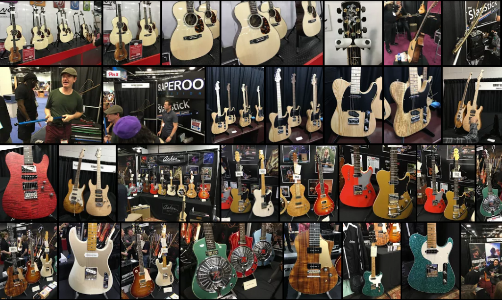 Mosaique NAMM2016 Day 3