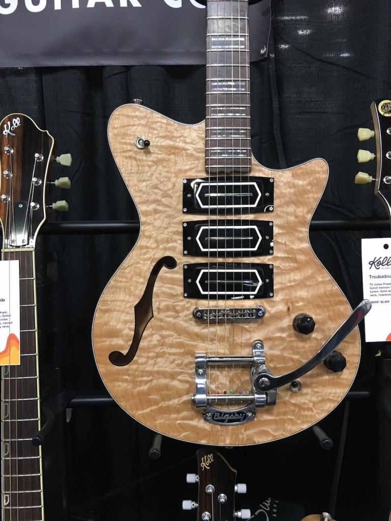 Saul Koll guitar - NAMM2016