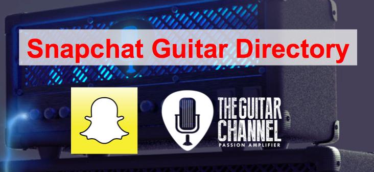 Snapchat Guitar Directory