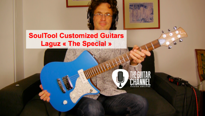 Laguz The Special from Soultool Customized Guitars - Guitar review