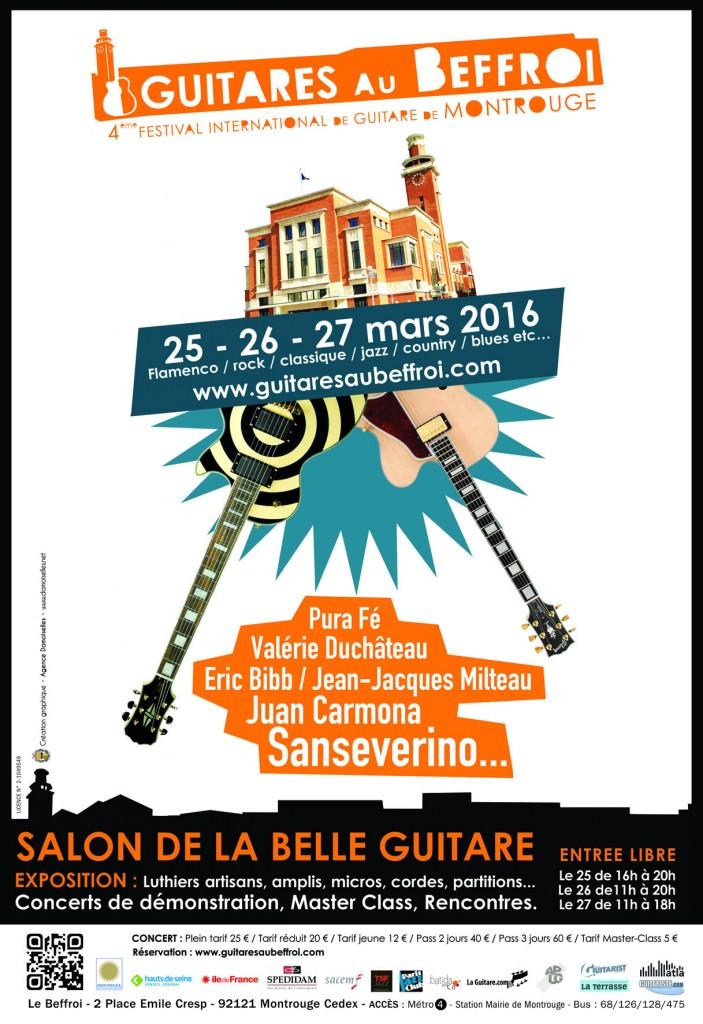 Guitares au Beffroi 2016