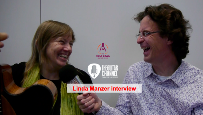 Linda Manzer interview at the 2015 Holy Grail Guitar Show