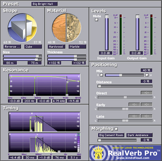Realverb Pro Universal Audio plugin