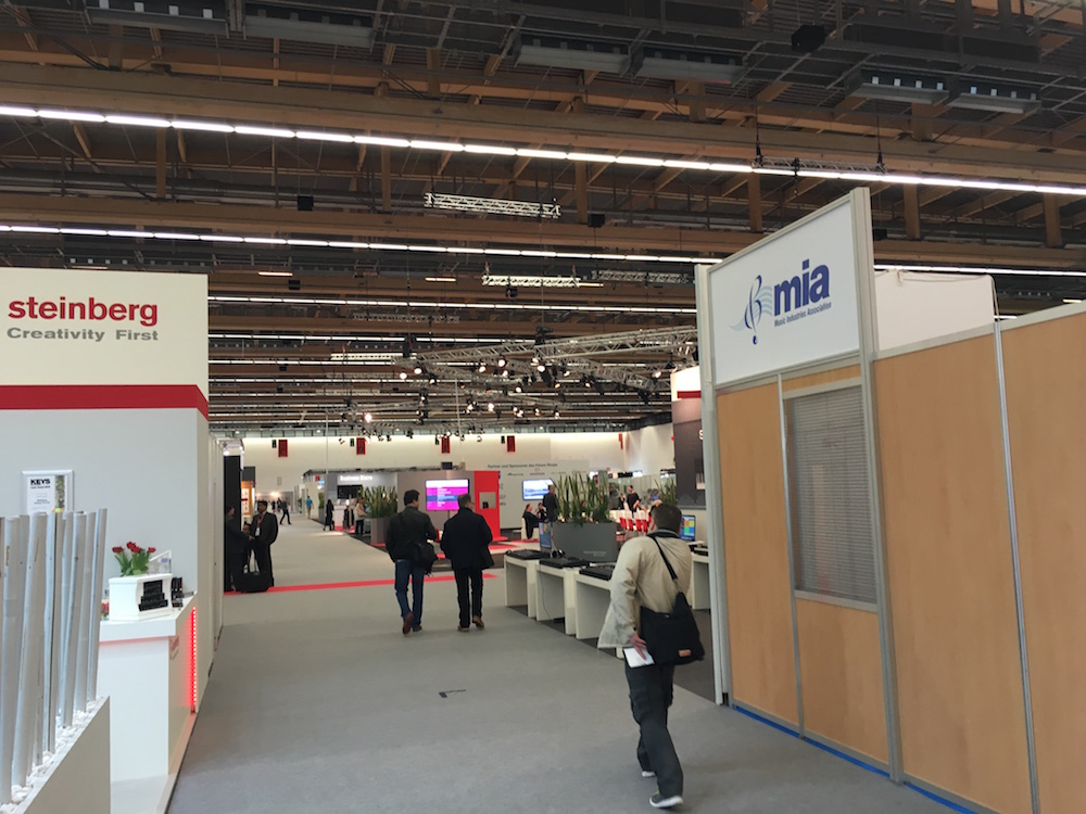 2016 Musikmesse - Hall 11.1 for business meetings