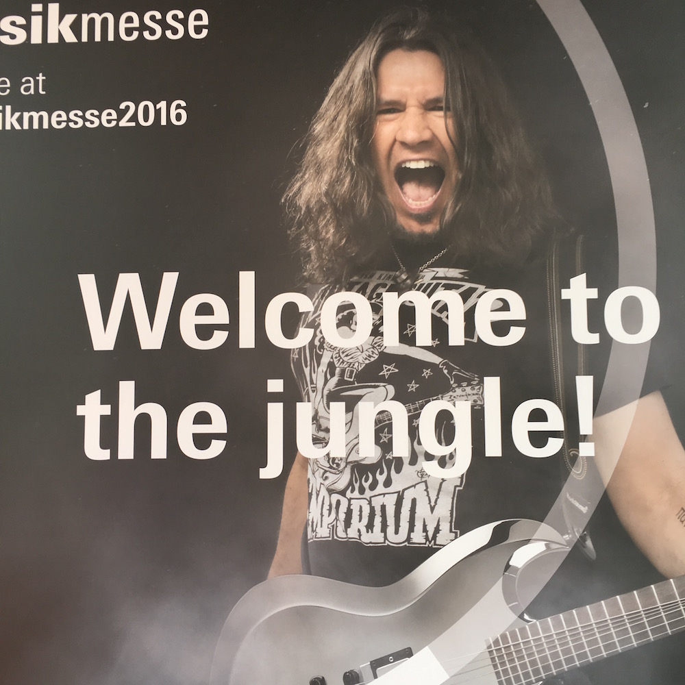 2016 Musikmesse - Welcome to the jungle by Phil X