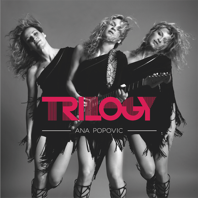 Ana Popovic interview about her triple album Trilogy