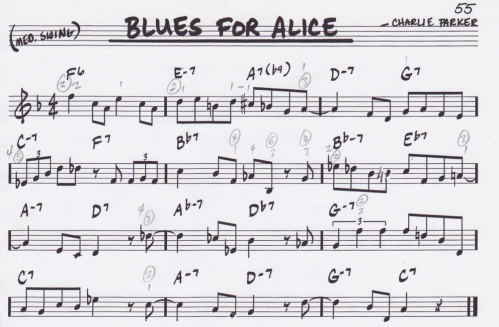 """Blues for Alice"" (Part 1/6) by Bruno Pelletier-Bacquaert (@BrunoPelbac)"