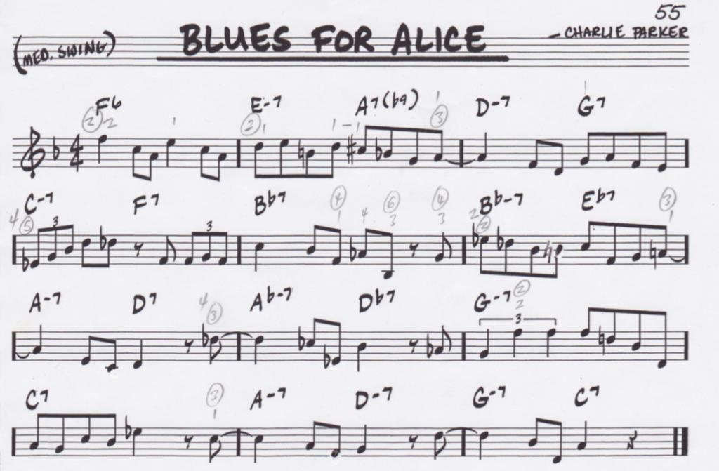 """Blues for Alice"" (Part 1/6) by Bruno Pelletier-Bacquaert (@BrunoPelbac)"