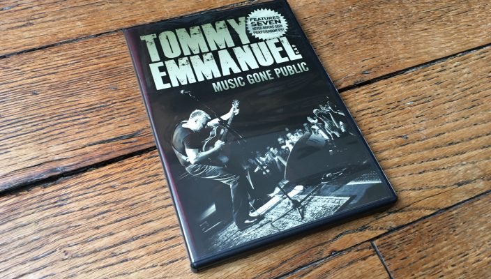 Tommy Emmanuel - Music Gone Public DVD