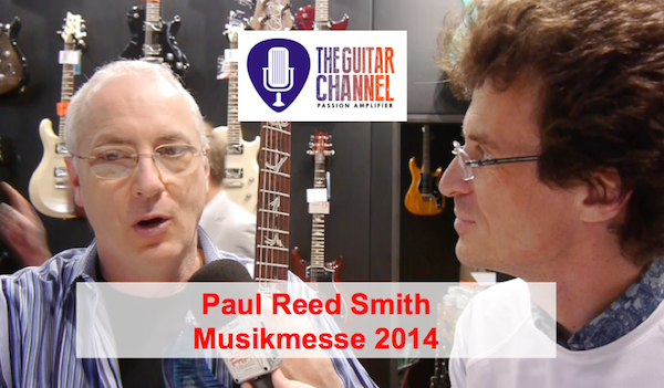 2014 Musikmesse Paul Reed Smith interview