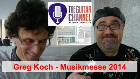 Greg Koch interview (aka @Mansqwatch) at the 2014 @Musikmesse