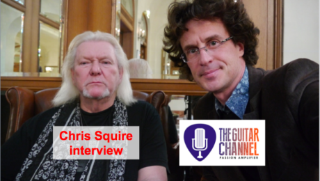 Chris Squire interview - Bass player for @YesOfficial