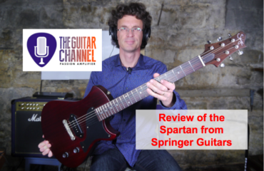 Spartan guitar from Springer Guitars: an awesome Junior!