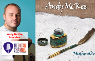 Andy McKee interview, one of the hottest fingerpicker (@TheRealMcKee)