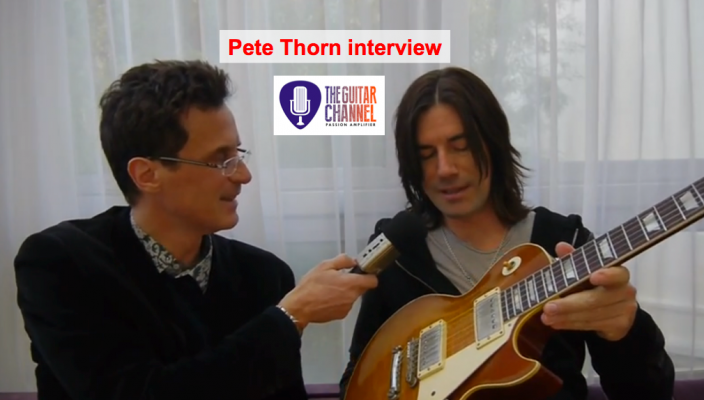 Pete Thorn interview (@PeteThorn): the best guitar nerd