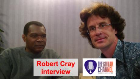 Robert Cray interview (@RobertCrayBand)
