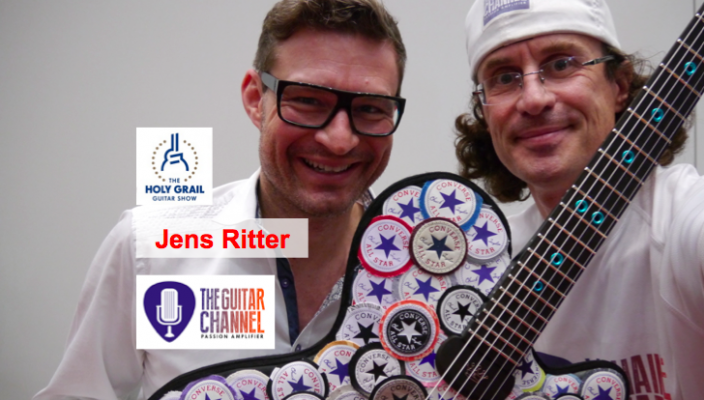 Jens Ritter interview at the Holy Grail Guitar show
