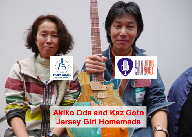 Jersey Girl Homemade guitars: interview with luthier Kaz Goto