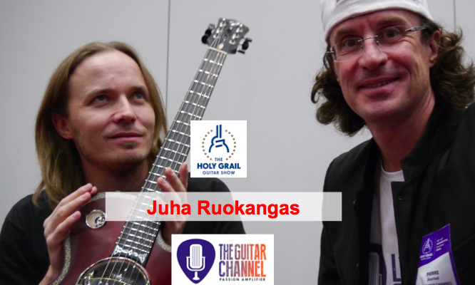 Juha Ruokangas interview: builder of the @Ruokangas Captain Nemo guitar