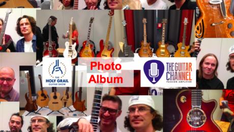 2014 Holy Grail Guitar Show photo album - Day 1