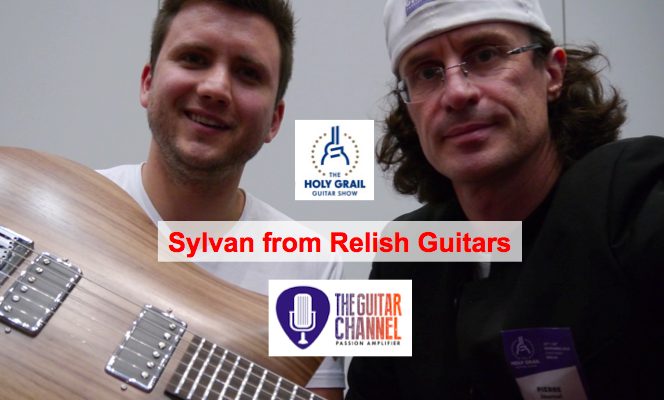 Interview of Sylvan from @RelishGuitars at the @HolyGrailGuitar show