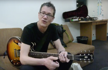 Jon Herington interview at the Olympia Hall in Paris, France