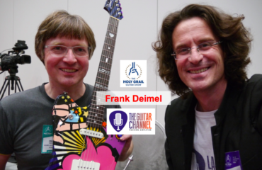 Frank Deimel Interview at the 2014 Holy Grail Guitar show