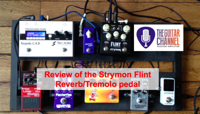 Strymon Flint review - An awesome reverb/tremolo pedal