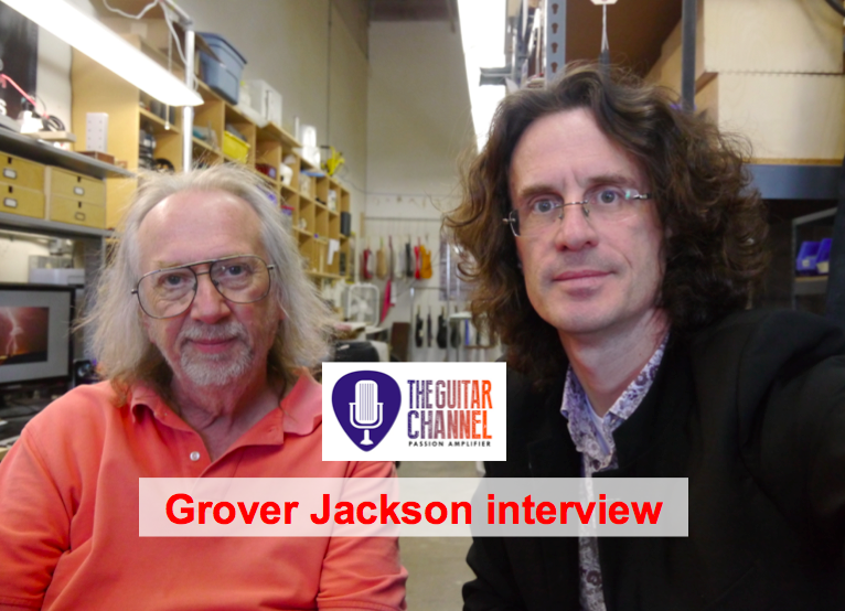 Grover Jackson interview - Visit @GJ2Guitars