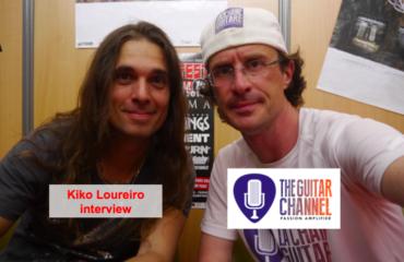 Kiko Loureiro interview during the 2014 Hellfest