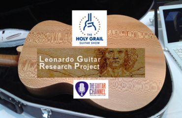 Leonardo Guitar Research Project - Interview at the 2014 Holy Grail Guitar Show